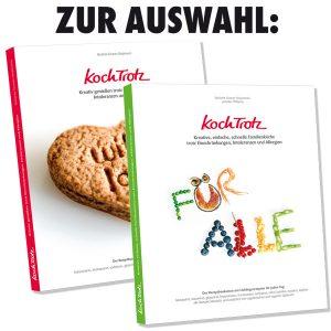 KochTrotz-Buch zur Auswahl