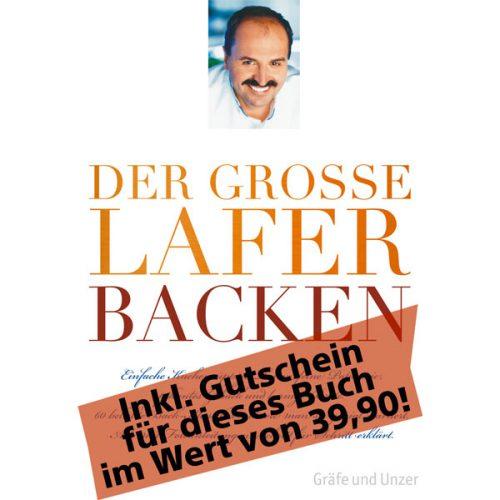 """Gutschein für """"Das große Lafer Backbuch"""" (im Wert von 39,90 €)"""